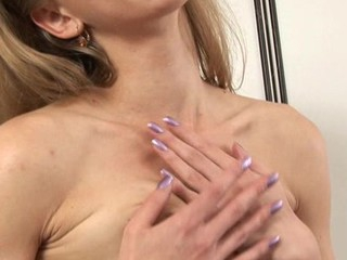 Beau is trickling sweet honey at near wild sextoy play