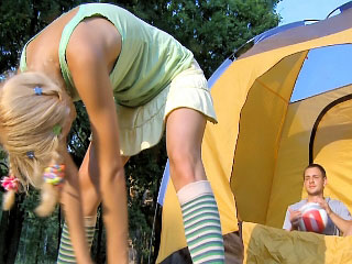 Horny mart babe possessions fucked outdoor with the addition of loving it