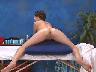 Petite latina babe sucks dick and gets fucked doggy style
